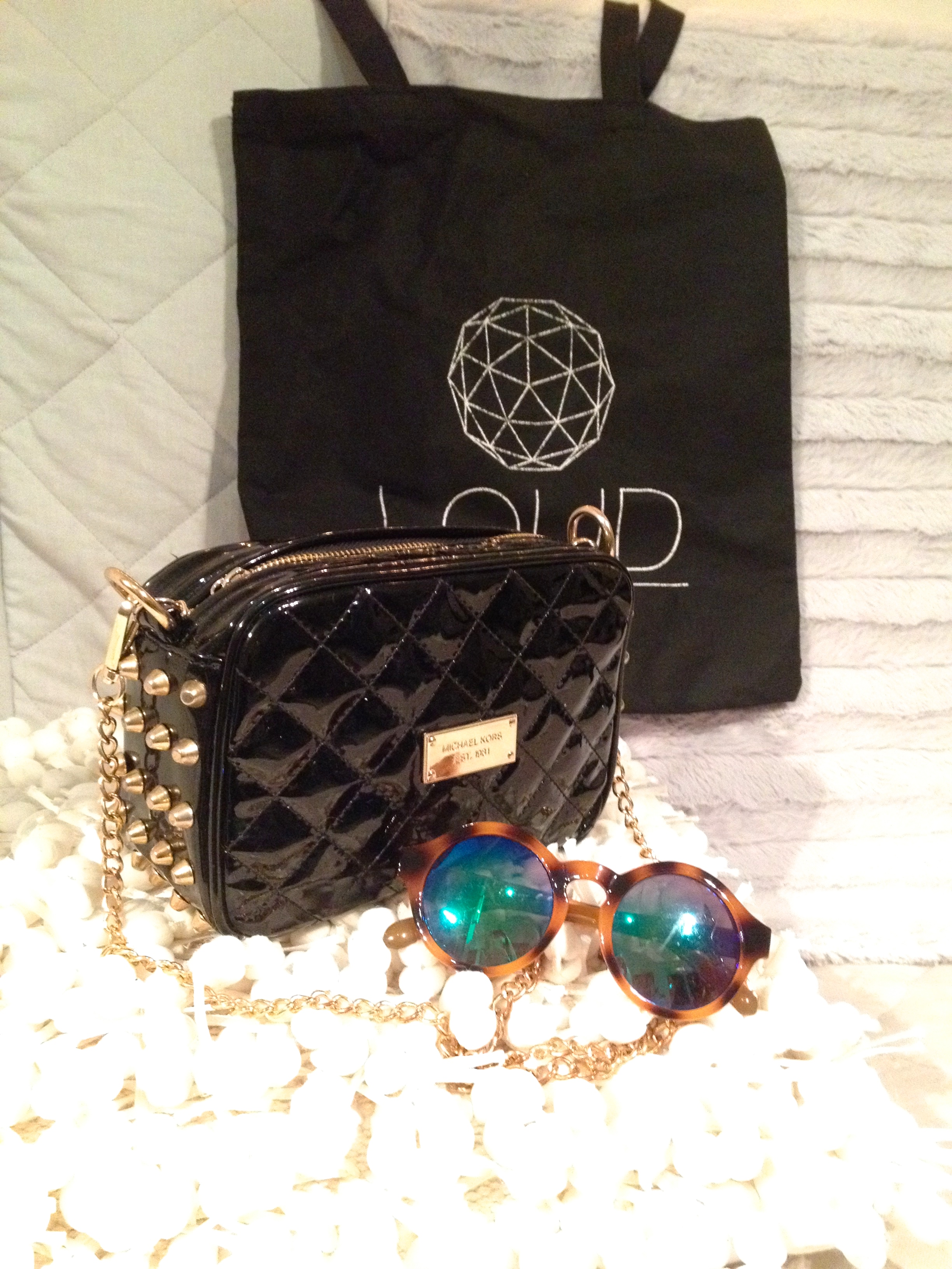 Clutch and tote bag